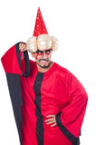 wizard-red-costume-isolated-white-36995987